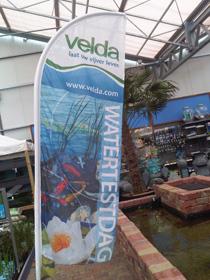 Laat je vijverwater analyseren tijdens de Velda watertestdagen