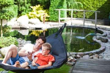 Relaxation near your pond