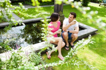 Romantic ponds