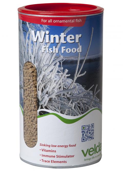 Wintervoer voor de vissen