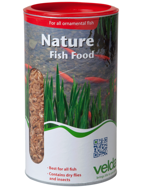 Zonnebaars visvoer Nature Fish Food Velda