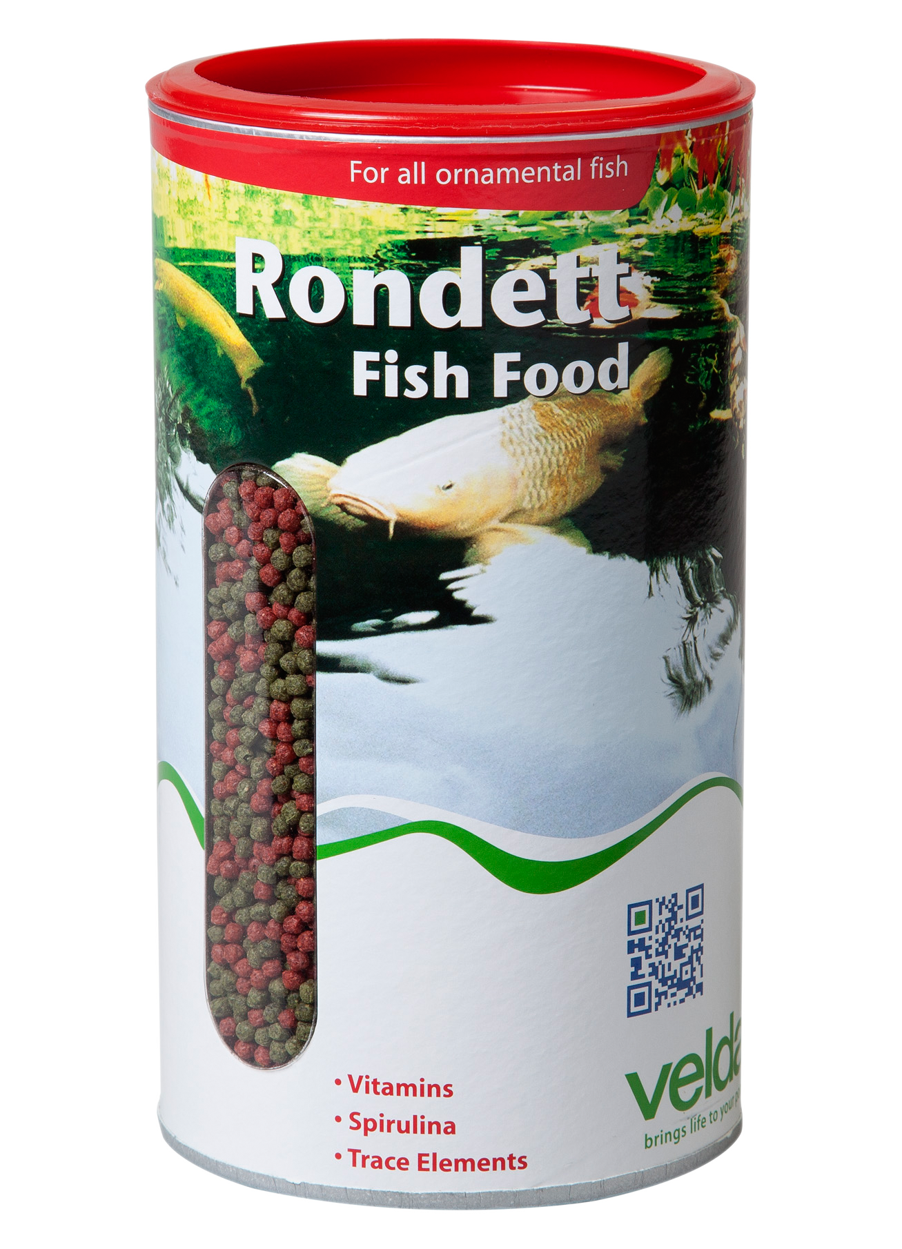 Rondett fish food velda for What is fish food made of