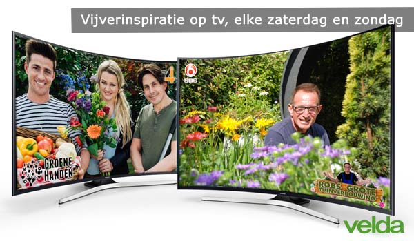Velda op tv velda for Tuinprogramma op tv
