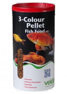 3 colour pellet food velda for Fischkrankheiten teich goldfische