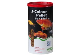 3 colour pellet food velda for Goldorfen futter