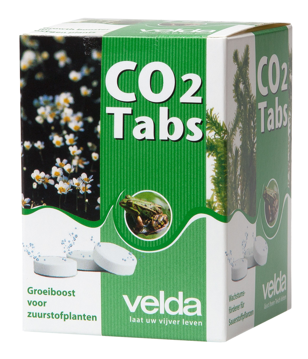 Co2 tabs velda for Oxygen tablets for fish
