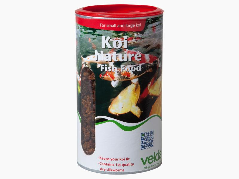 Koi nature fish food velda for Best food for koi fish