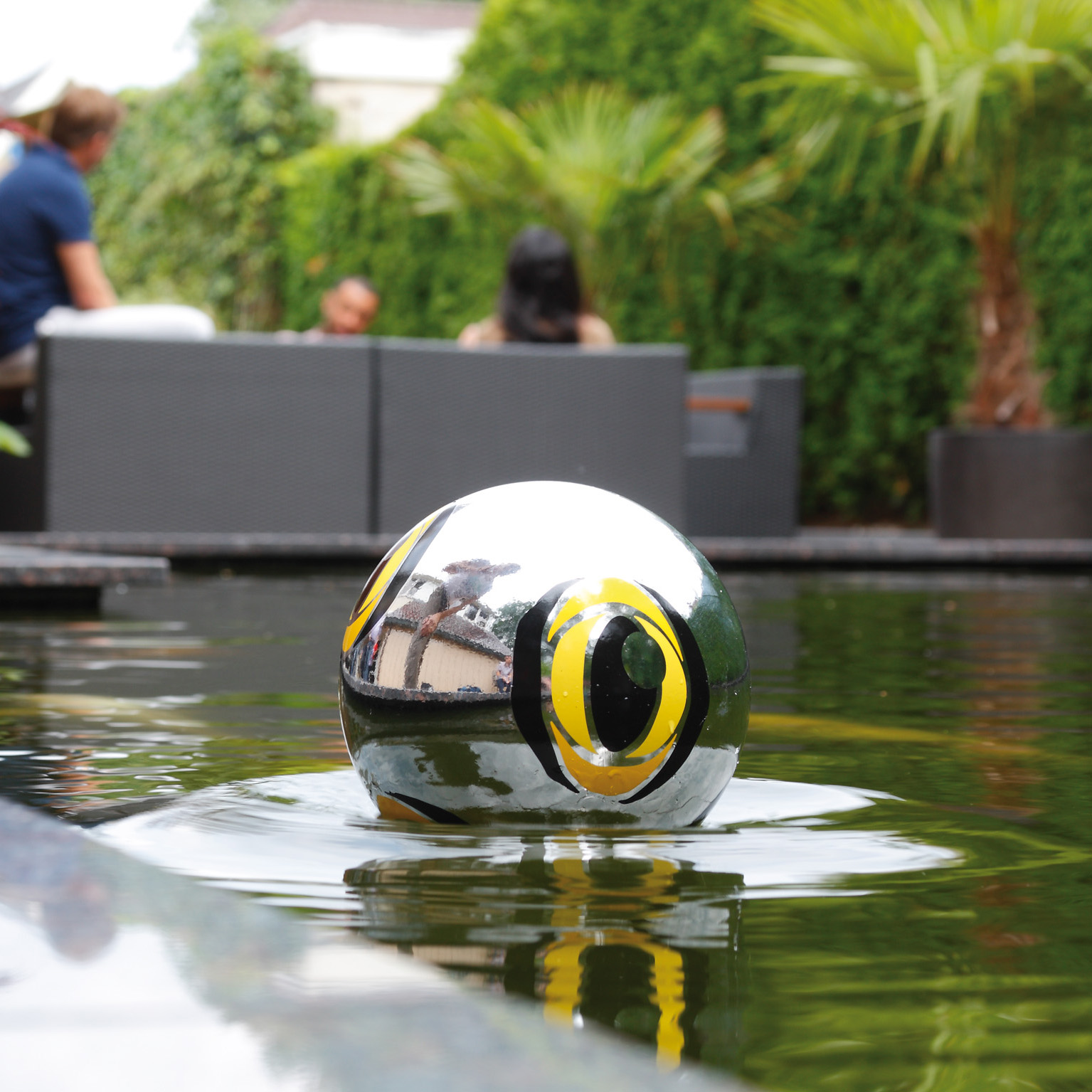Pond protection and security device velda for Fish pond protection