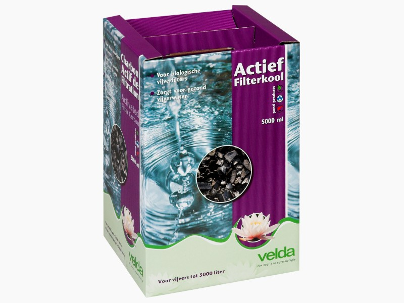 Activated filter carbon velda for Koi filter material