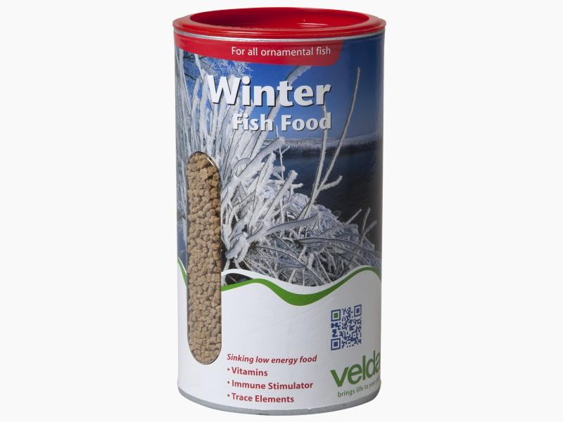 winter fish food velda
