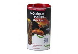 3-Colour Pellet Food